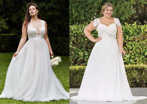 Cô dâu béo cần kỹ lưỡng trong cách chọn trang phục hơn cả cô dâu gầy, hạn chế nhiều khuyết điểm