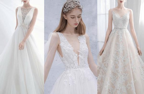 Nếu được lựa chọn đúng mẫu váy và cách make up thì cô dâu Gầy sẽ đều xinh lung linh trong ngày cưới.