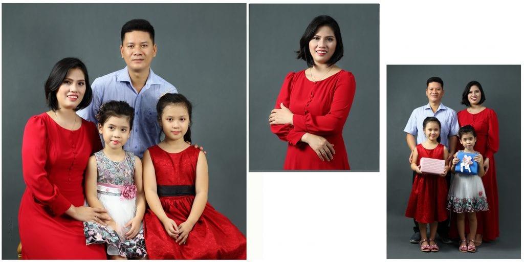 Ai cũng có nhu cầu chụp ảnh gia đình