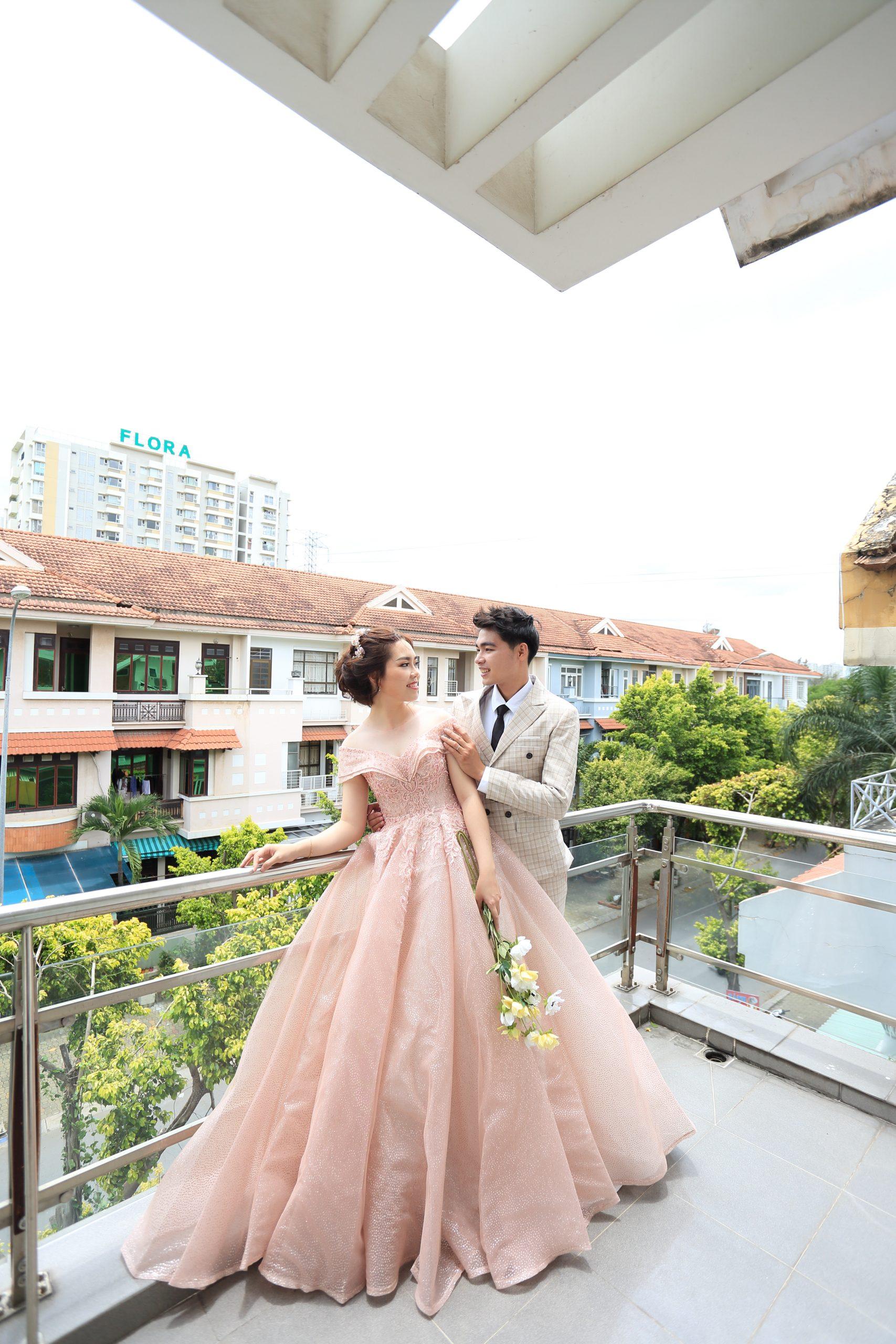 Áo cưới mẫu 054