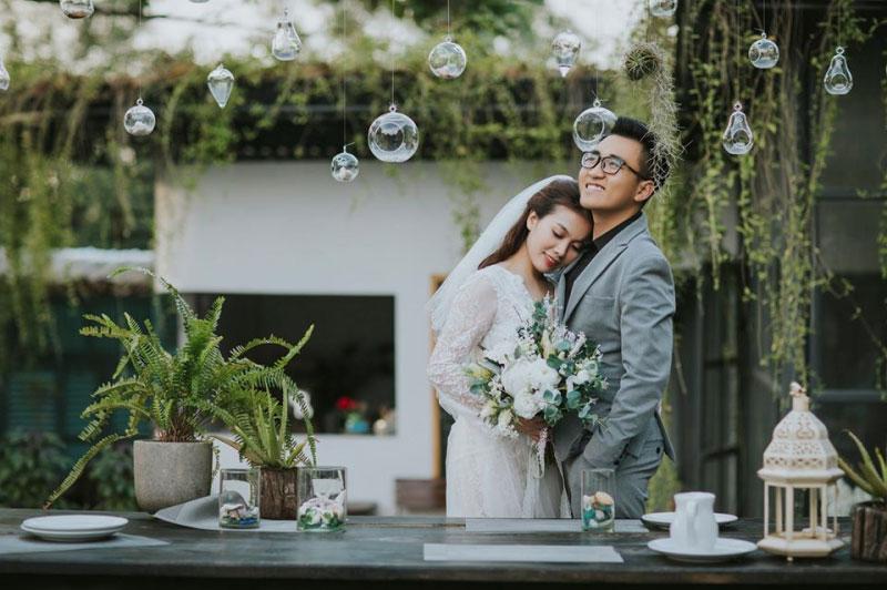 Ảnh cưới lãng mạn thực hiện tại phim trường Hera