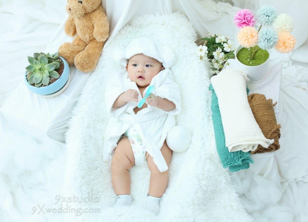 chụp ảnh Baby lưu giữ lại nét hồn nhiên đáng yêu của bé