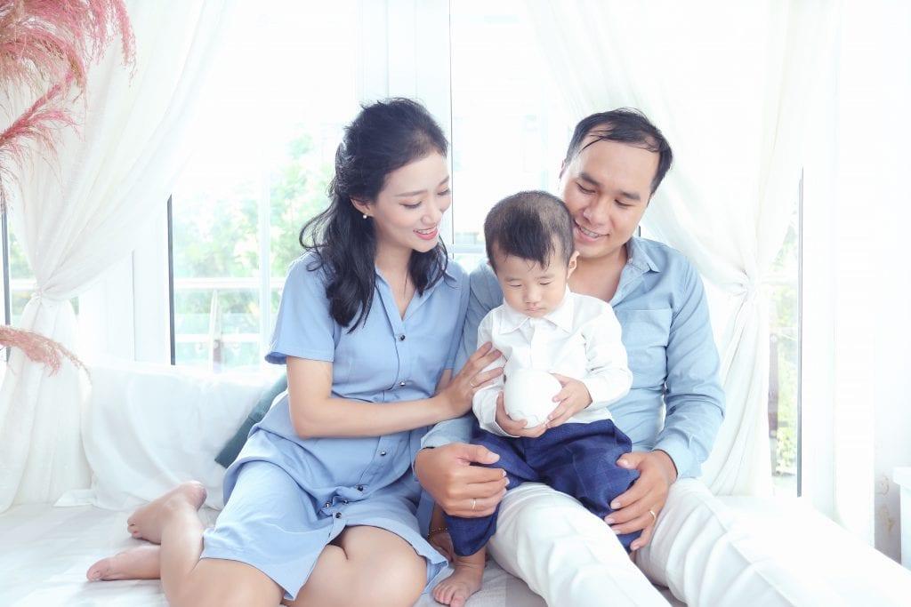 Chụp Ảnh gia đình đẹp chụp tại Quận 9