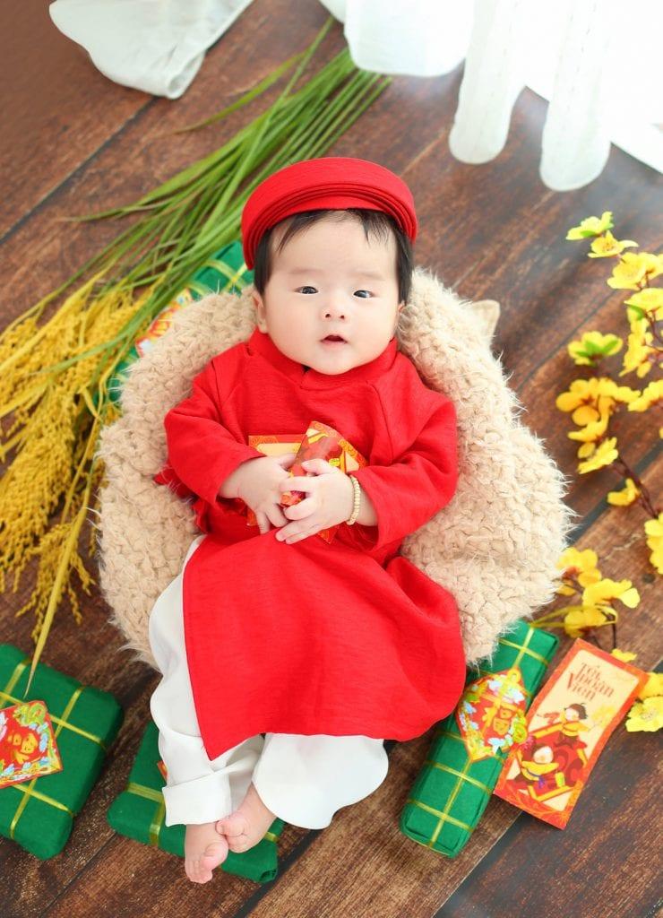 Chụp ảnh bé cực ngầu tại Ho Chi Minh