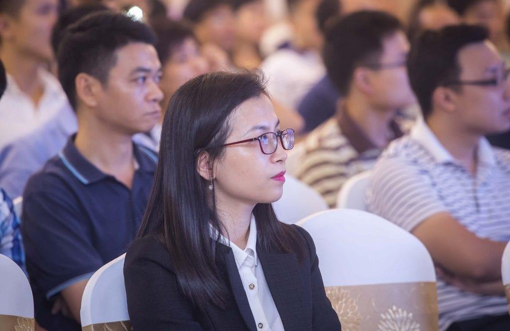 Chụp ảnh hội nghị Quận Bình Thạnh