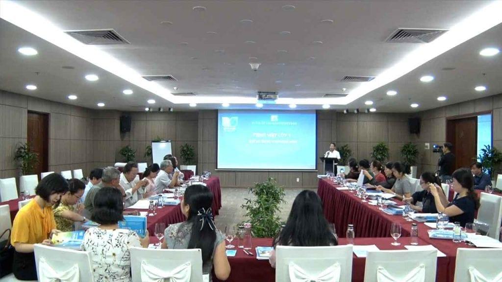 Chụp ảnh hội nghị huyện Hóc Môn
