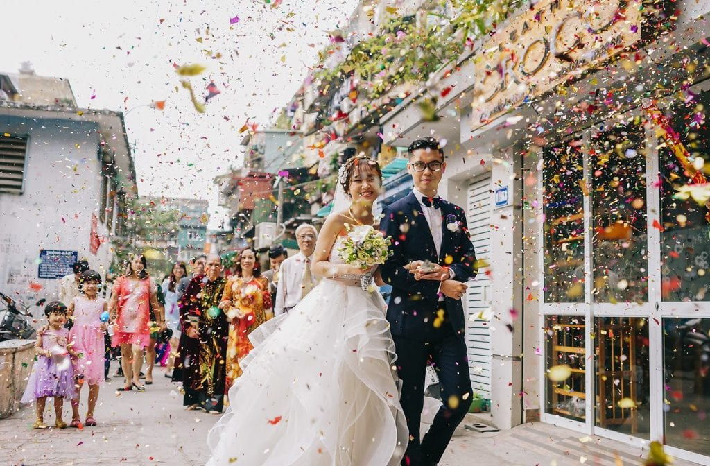 Chụp ảnh tiệc cưới Quận Bình Tân