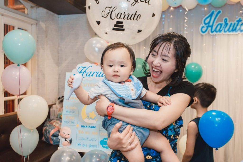 Chụp ảnh tiệc sinh nhật Quận Bình Tân